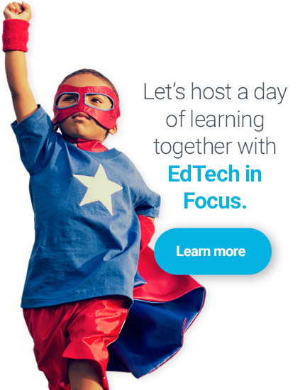 let's host a day of learning together with EdTech in focus