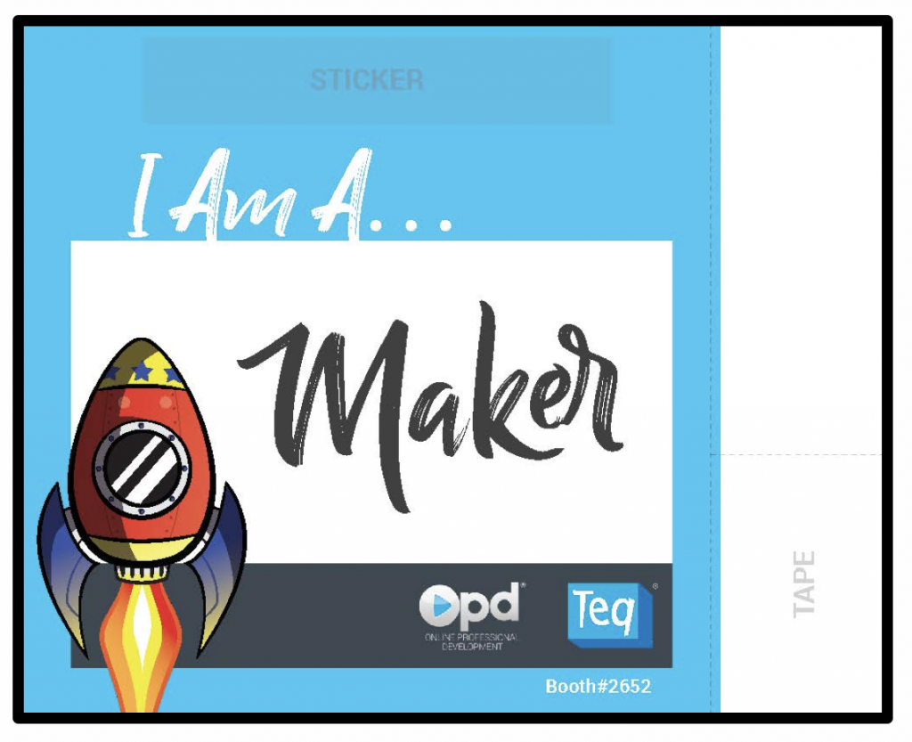 Learn how to make your LED ISTE badge