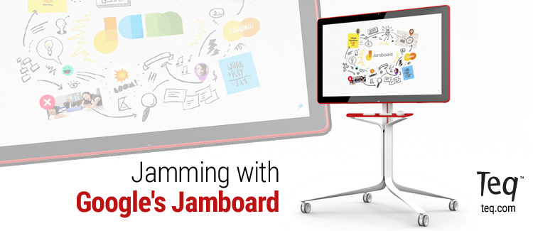 Jamming with Google's Jamboard