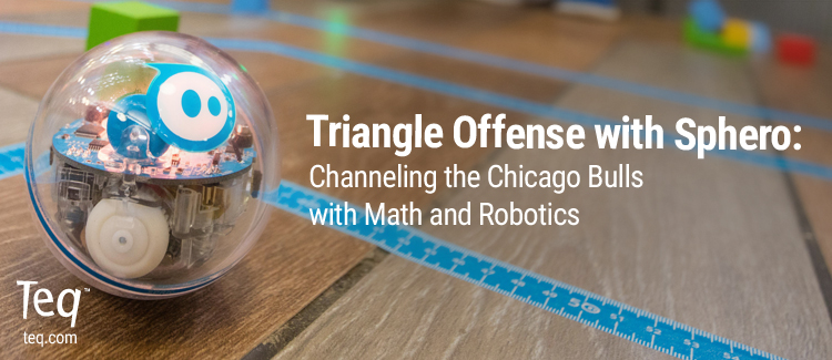 Triangle Offense with Sphero
