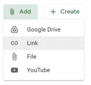 Creating Materials in Your Google Classroom