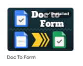 google doc to form